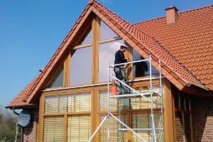 Bronze Sonnenschutzfolie Privathaus