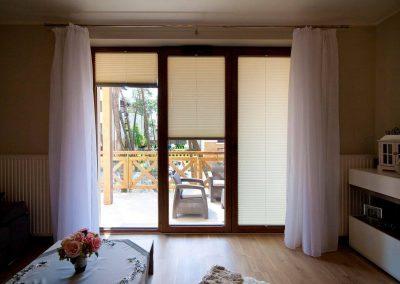 Plissees - Wohnzimmer