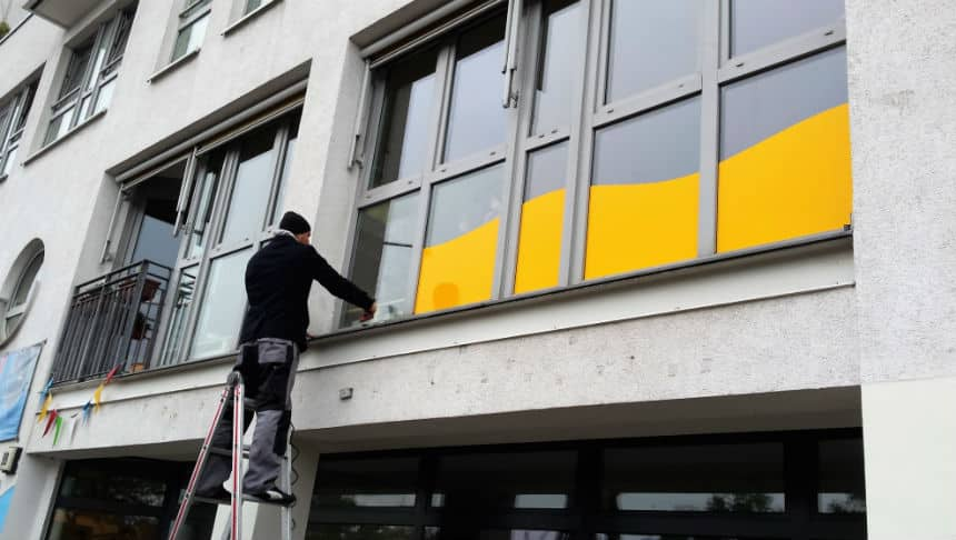 Verbessern Sie das Design Ihres Hauses mit dekorativen Fensterfolien